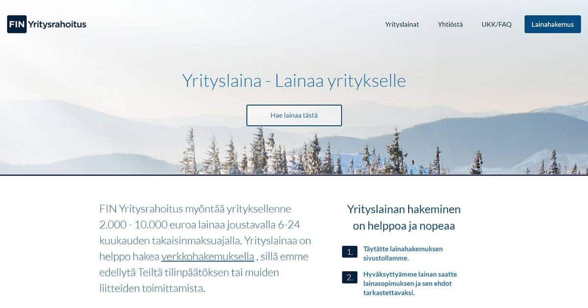 FIN Yritysrahoitus kokemuksia löytyy lukuisilta suomalaisilta pienyrittäjiltä.