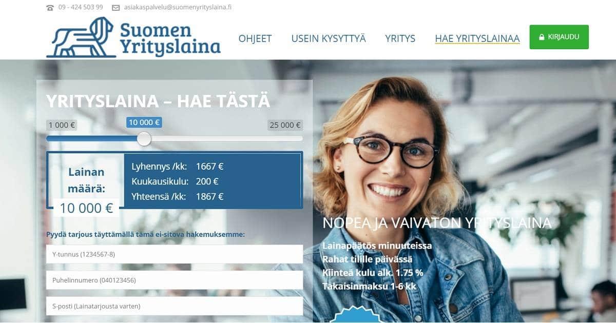 Kokemuksia Suomen Yrityslainasta on kertynyt jo lukemattomille suomalaisyrittäjille.