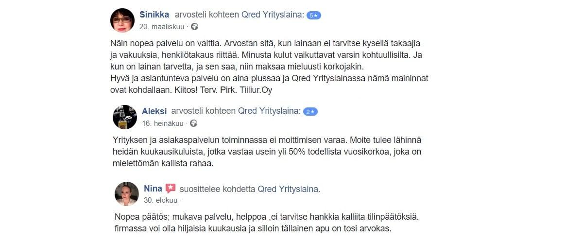 Qred kokemuksia löytyy jo tuhansilta suomalaisyrittäjiltä.