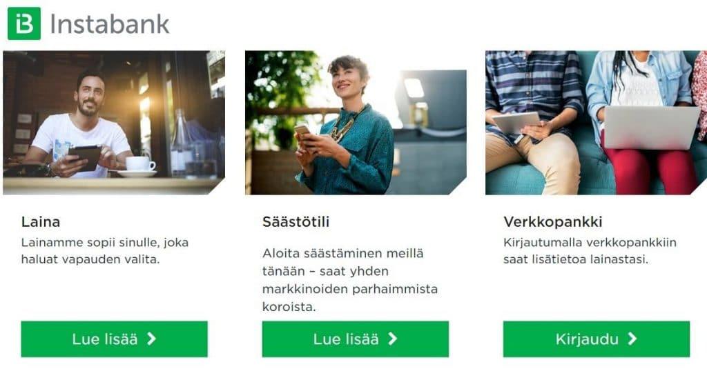 Kokemuksia Instabankin säästötilistä ja lainoista on jo tuhansilla suomalaisilla.