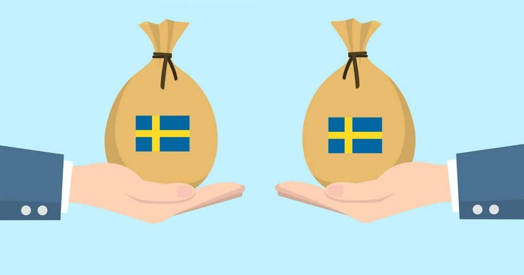 Monet ruotsalaiset pankit toimivat verkossa tarjoten lainaa suomalaisille asiakkaille.