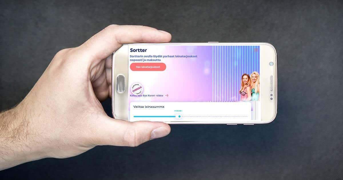 Kokemuksia Sortter.fi palvelusta löytyy jo tuhansilta asiakkailta.
