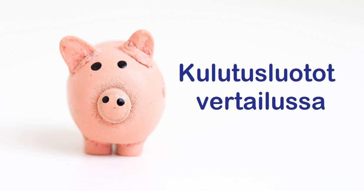 Pankista tai netistä haettavia kulutusluottoja kannattaa vertailla kattavasti.