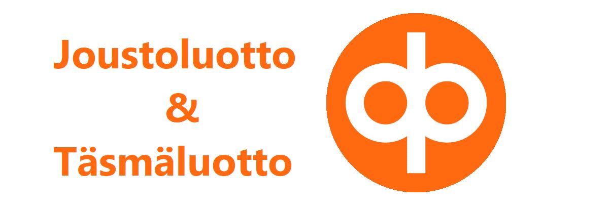 OP:n logolla varustettu kuvituskuva pankin vakuudettomia lainoja käsittelevään artikkeliin.