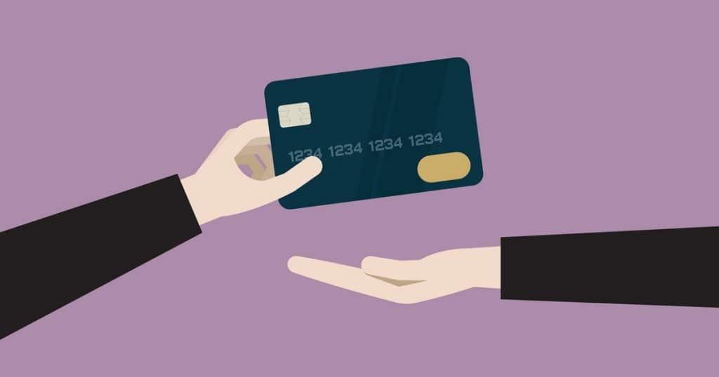 Kuvituskuva luottokortista.